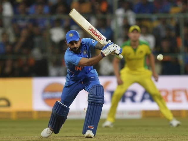 Ind vs Aus 3rd ODI: Kohli gets such double Virat Achievement by beating MS Dhoni