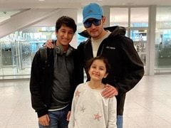 Mahesh Babu, Gautham And Sitara Send Love From New York