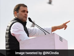 Rahul Gandhi Sole Contender For Party President's Post: Congress Sources