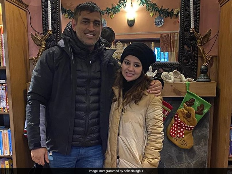 """You Do It To Gain Instagram Followers"": MS Dhoni Hilariously Trolls Wife Sakshi"