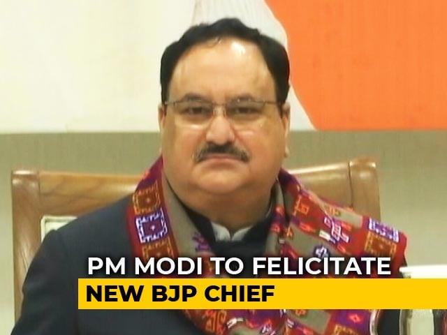 Video : JP Nadda Set To Take Over From Amit Shah As New BJP Chief Today