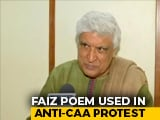 "Video : CAA Protests: Javed Akhtar's Take On The IIT-Kanpur ""Faiz Is Anti-Hindu"" Row"