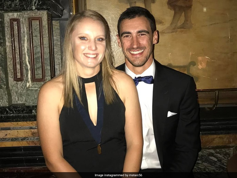 IND vs AUS: Mitchell Starc's Wife Alyssa Healy Reacts To His Dismissal, Leaves Twitter In Splits