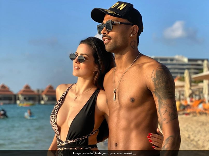 Hardik Pandya All Hearts For Natasa Stankovic