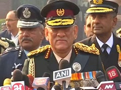 General Bipin Rawat Says Difficult To Predict War Scenario With Pakistan