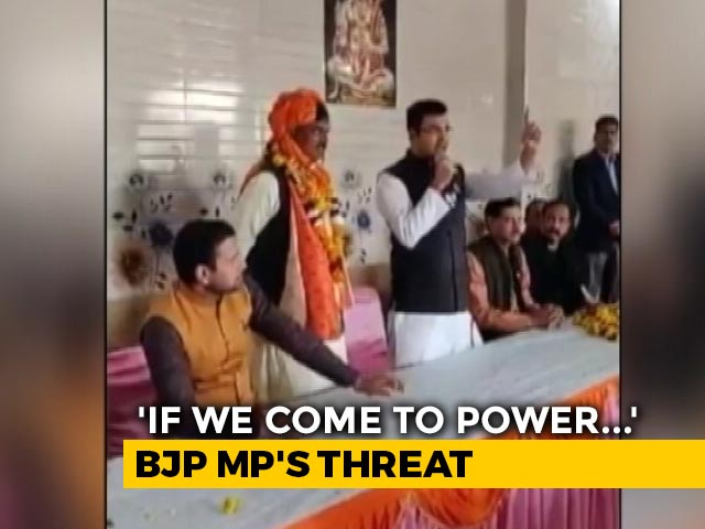 "Video : ""They Will Rape, Kill"": Delhi BJP MP's Shocker On Shaheen Bagh Protesters"