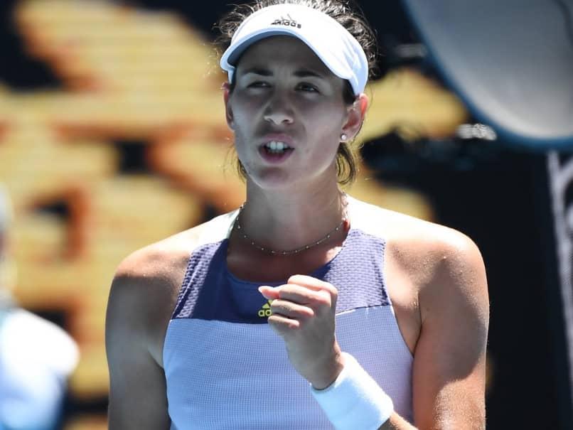 Resurgent Garbine Muguruza Sets Up Simona Halep Clash In Australian Open Semi-Finals