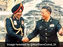 Northern Army Commander On Rare Visit To China's Xinjiang