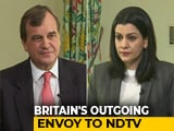 "Video : ""Kashmir Needs To Be Sorted Between India And Pakistan"": UK Envoy To NDTV"