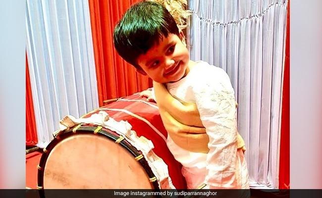 Exclusive: 'ঢাকের তালে Adidev দোলে', সরস্বতী পুজোর সকালে? দেখুন ছবি