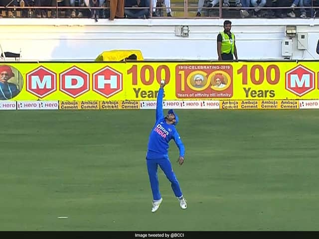 India vs Australia: Manish Pandey Takes One-Handed Stunner To Dismiss David Warner In 2nd ODI. Watch Video