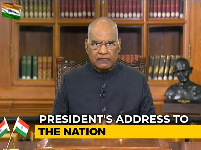 """Video : """"Justice, Freedom, Equality..."""": President Talks Of Constitutional Duties"""