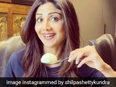 Shilpa Shetty And Shamita Shetty Finish This Vegan Cake In All Of Two Minutes!