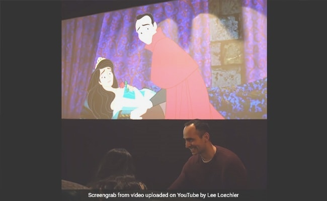 Man Proposes By Re-Animating Girlfriend's Favourite Disney Movie. Watch