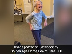 Watch: 91-Year-Old Woman Celebrates End Of Therapy With A Happy Dance