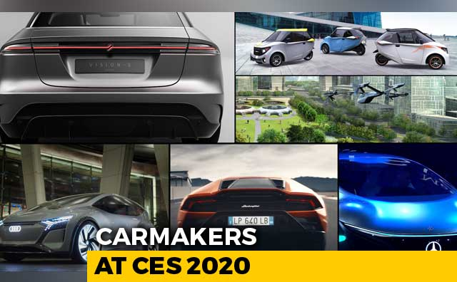 Video : The Carmakers At CES 2020