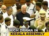 Video : Blocked By Opposition MLAs, Kerala Governor Escorted By Marshals