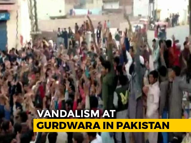 "Video : ""Wanton Acts Of Destruction"": India After Vandalism At Gurdwara In Pak"