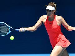 Australia Open: Maria Sharapova Crashes Out In First Round