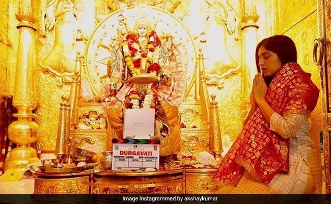 Durgavati: Akshay Kumar, Bhumi Pednekar Seek Blessings On The First Day Of Shoot