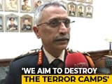 """Video : """"We Have Always Been Apolitical, Will Stay Apolitical"""": New Army Chief MM Naravane To NDTV"""