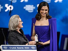 At World Economic Forum, Crystal Awardee Deepika Padukone Speaks On 'Love-Hate Relationship With Mental Illness'