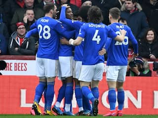 FA Cup: Kelechi Iheanachos Early Goal Guides Leicester To 1-0 Win Over Brentford
