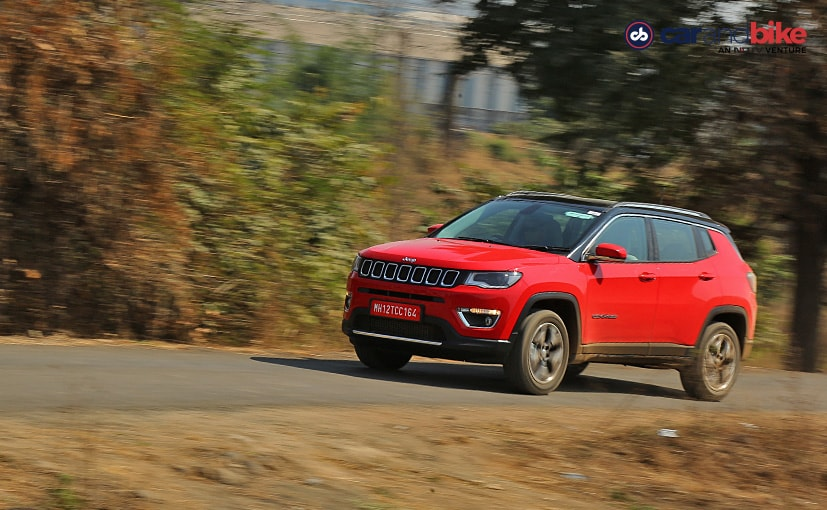 The 2020 Jeep Compass 4x4 diesel AT BS6 is offered in 2 variants - Longitude and Limited Plus