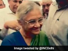 In Congress Delhi Campaign Song, Sheila Dikshit's Legacy Is The Highlight