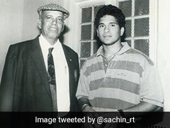 Sachin Tendulkar Tweets Emotional Tribute For Ramakant Achrekar On Death Anniversary
