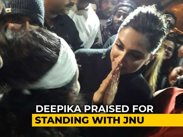After Deepika Padukone's JNU Visit, 'Respect' vs 'Boycott' On Twitter