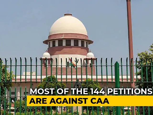 Video : Over 140 Petitions On Citizenship Law To Be Heard By Supreme Court Today