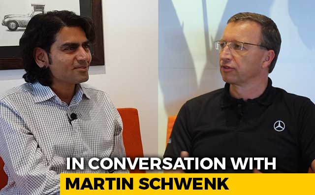 In Conversation With Martin Schwenk, MD And CEO, Mercedes-Benz India