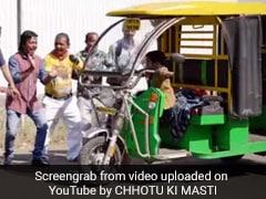 छोटू दादा की 'टम-टम' ने सड़क पर मचाया धमाल, बैठने के लिए लोगों की लगी लंबी कतार- देखें Video