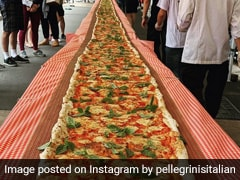 Restaurant Cooks 338-Foot Pizza To Raise Funds For Australia Firefighters