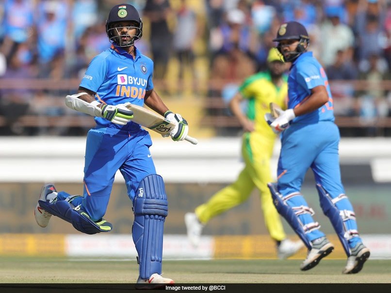 "Rohit Sharma, Shikhar Dhawan ""Progressing Well"", Final Call Before 3rd ODI Against Australia"