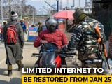 Video : 2G Mobile Internet Services To Be Restored In Kashmir With Restrictions
