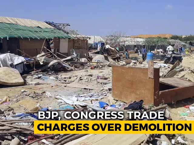 Video : After Demolition, Bengaluru Slum Dwellers Try To Cope