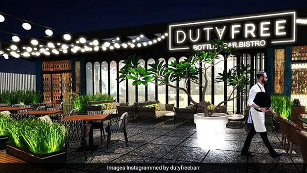Duty Free Courtyard In Noida Is A Perfect Place To Unwind With Food, Drinks And Friends