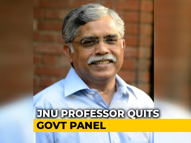 """Video : Professor Quits Government Panel On Data, Concerned Over JNU """"Situation"""""""