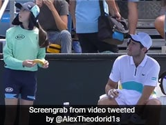 Australian Open: Tennis Player Asks Ballkid To Peel Banana, Umpire Tells Him Off. Watch Video