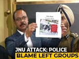 Video : Cops Name Student Leader Aishe Ghosh, Others For Attack At JNU Hostel