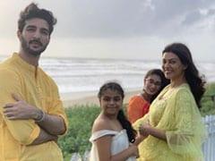 Rohman Shawl Couldn't Help But Miss Sushmita Sen At His Sister's Wedding Festivities