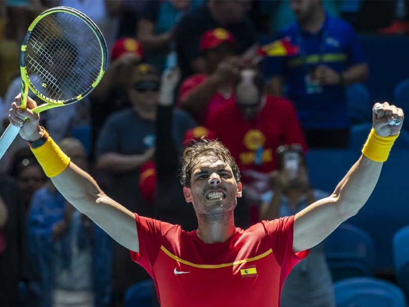 Rafael Nadal Leads Spain Into ATP Cup Quarter-Finals, Argentina Also Go Through
