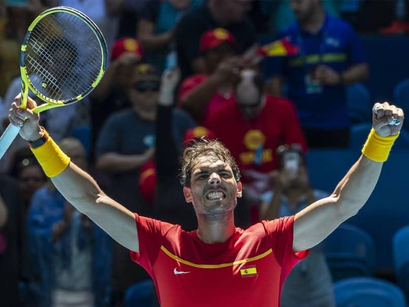 Rafael Nadal Leads Spain Into ATP Cup Quarter-Finals, Argentina Also Go Through