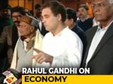 Video : 'Challenge PM To Tell Students Why Economy A Basket Case': Rahul Gandhi