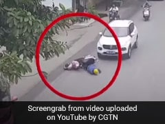 Watch: Passersby Come Together To Lift Car, Rescue Biker Trapped Under It