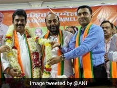 BJP's Sadanand Tanavade Elected As Party's Goa President