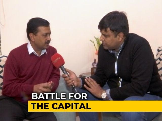 "Video : ""Please Think Of Schools, Hospitals"": Arvind Kejriwal's Appeal To Delhi"