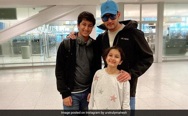 Mahesh Babu, Gautham And Sitara Send Love From New York